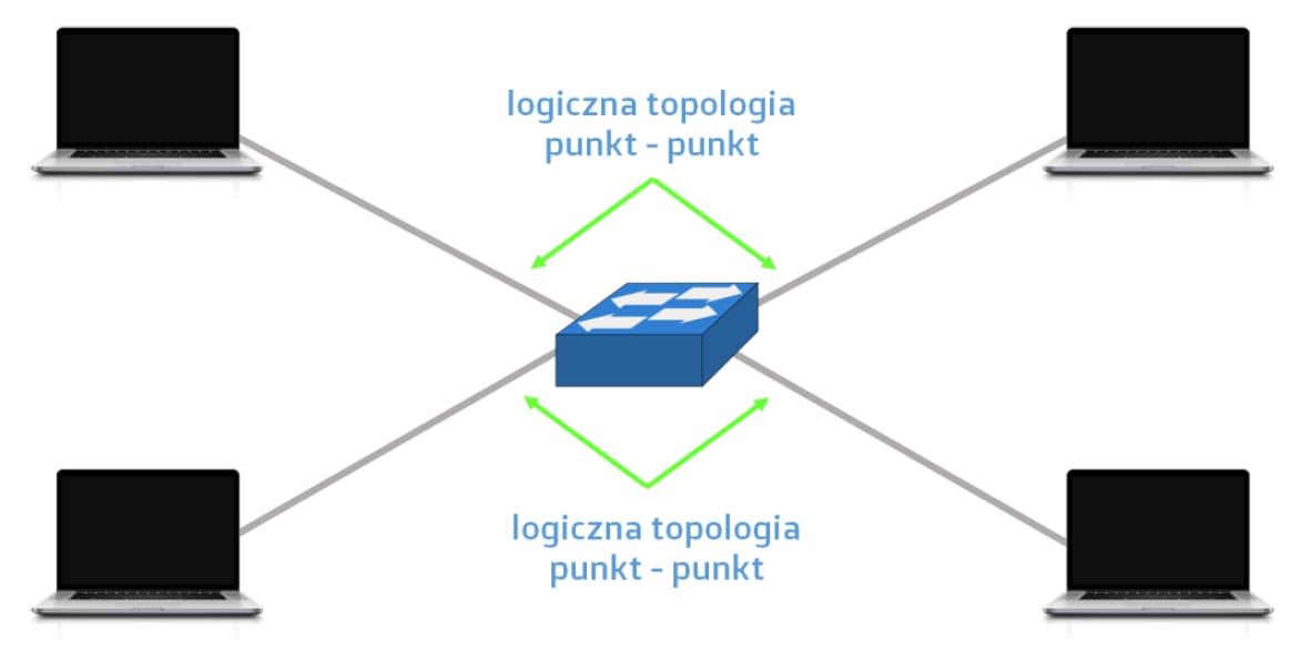 Logiczna topologia punkt-punkt