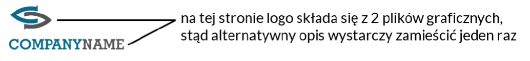 Logo złożone z dwóch grafik