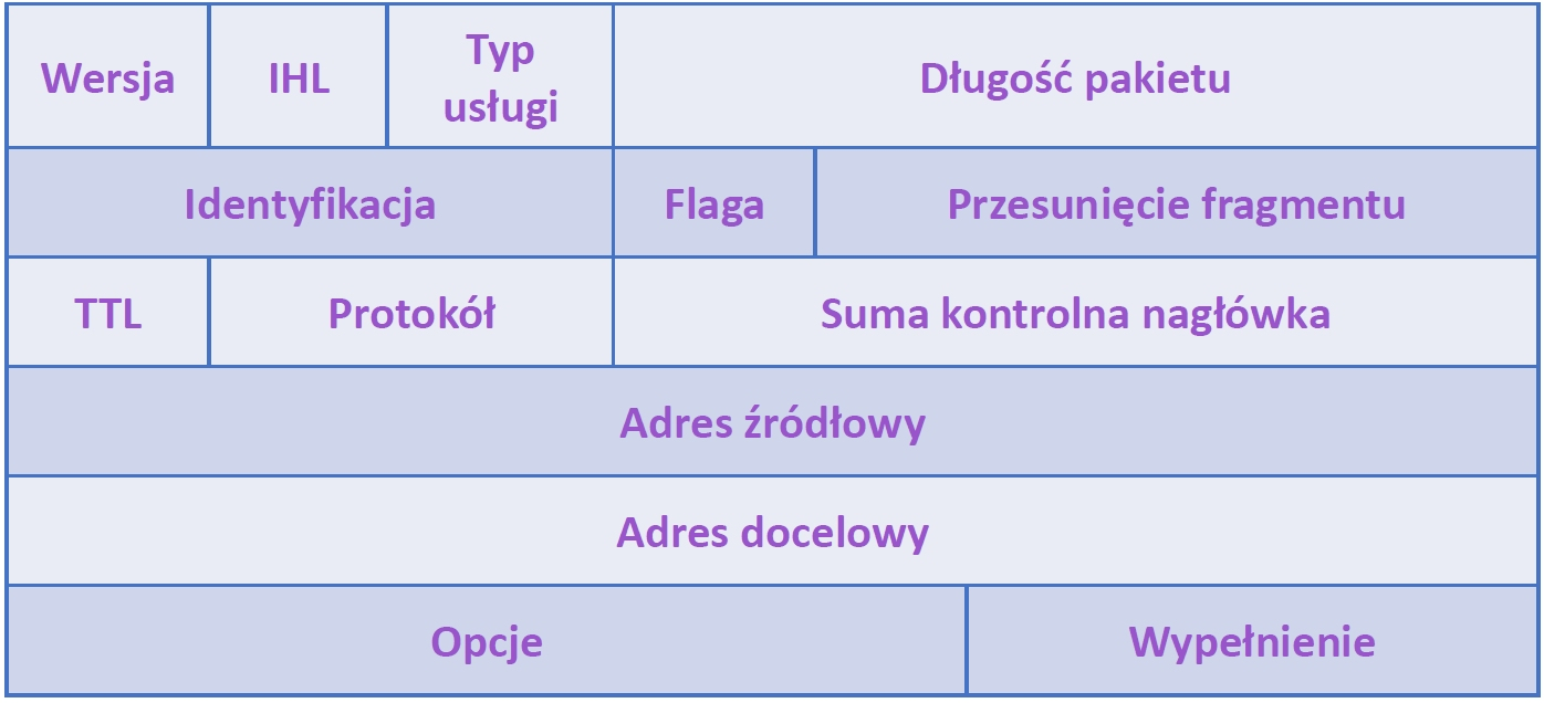 Nagłówek IPv4